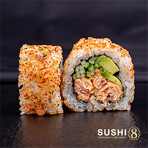 Foto Spicy Salmon Roll